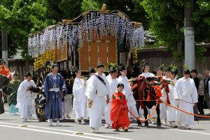 葵祭(2)牛車(御所車)