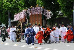 葵祭(7)牛車(女房車)